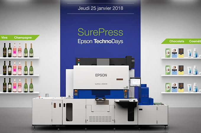 SurePress TechnoDays • 25 janvier 2018 à 9h30