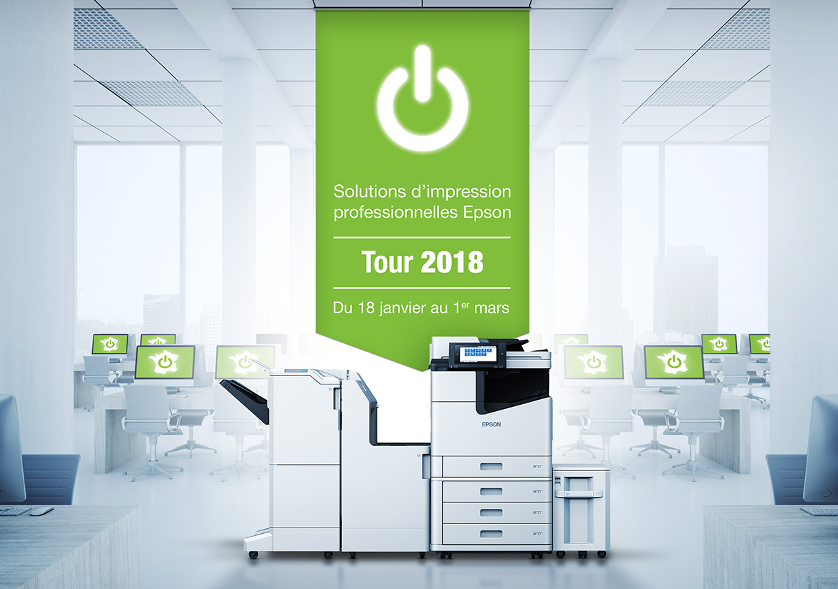 Epson Solution Tour 2018 : du 18 janvier au 1er mars : WF-Enterprise / WF-Pro et MPS
