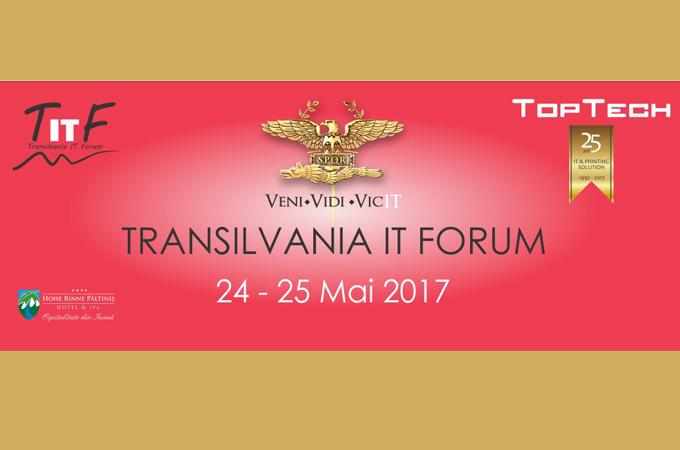 Epson la Transilvania IT Forum 2017