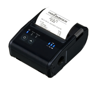 Piccola e versatile la stampante portatile POS di Epson