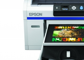 SureColor SC-F2000 printer offers reliable support for fashion brand