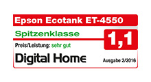 Award Epson ET 4550 Digital Home
