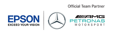 EPSON and MERCEDES AMG PETRONAS