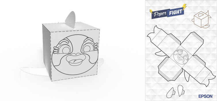 Shark Paper Toy