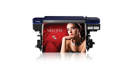 Sign and display printers