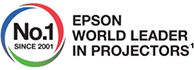 No.1 Epson World Leader in Projectors