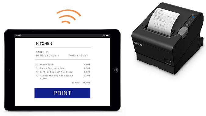La impresora térmica Epson TM-T88VI permite múltiples conexiones