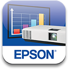 Epson EB-1470Ui- WUXGA 1080p 3LCD Projector with Speaker - 4000 lumens - iprojection app icon