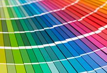 Textile rainbow
