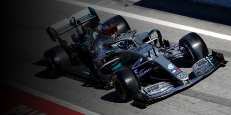 Mercedes AMG Petronas Motorsport - 2020 Season Race Calendar
