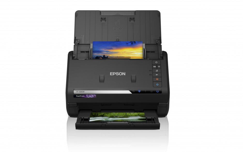 Scan up to 30 photos in 30 seconds with Epson's new FastFoto scanner*