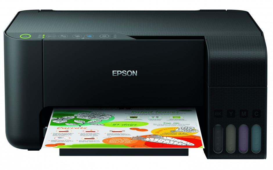Epson představuje 5barevný inkoustový systém EcoTank a zavádí vylepšené funkce také do základní řady
