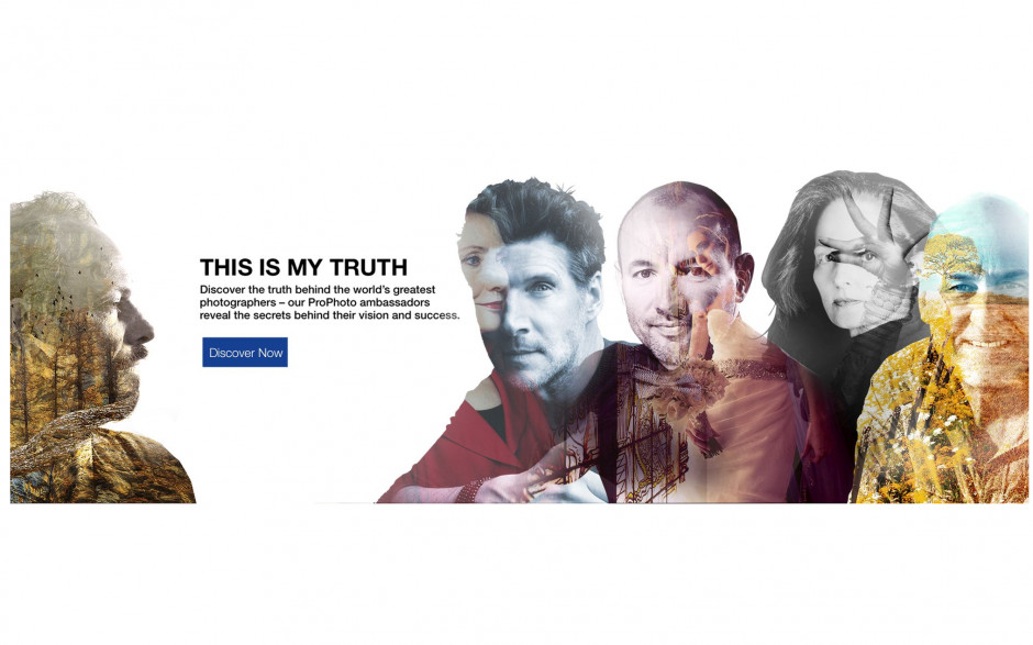 """Isabel Muñoz, Premio Nacional de Fotografía 2016, embajadora de Epson en la campaña """"Esta es mi verdad"""""""
