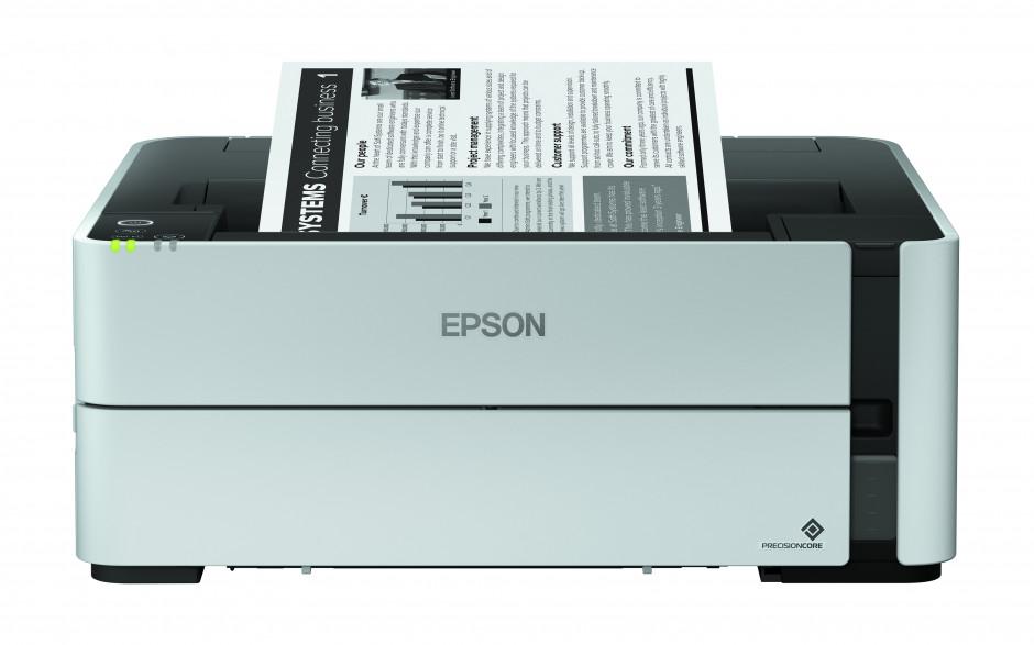 Epson propose une gamme complète d'imprimantes monochrome EcoTank pour les professionnels