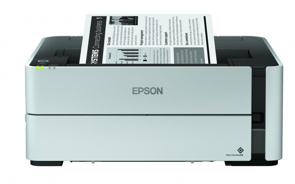 Epson définit sa gamme complète d'imprimantes monochromes EcoTank