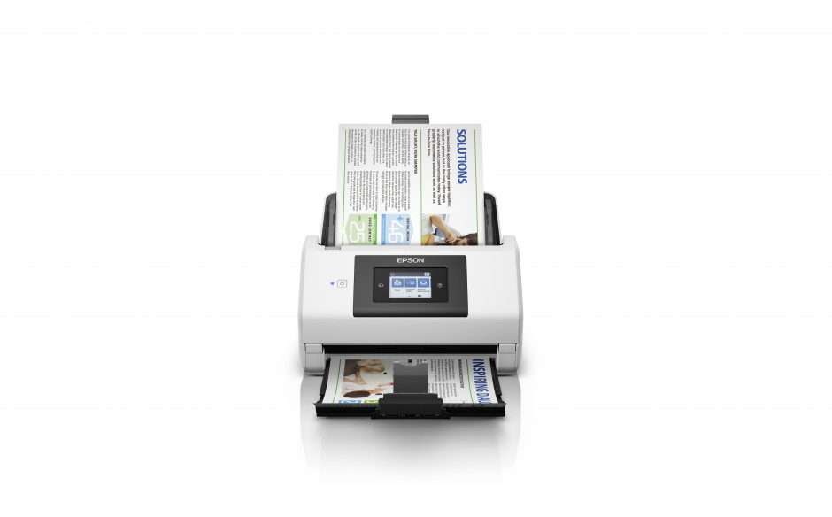 Epson's most intelligent business scanner makes fast, high-volume networked scanning easy