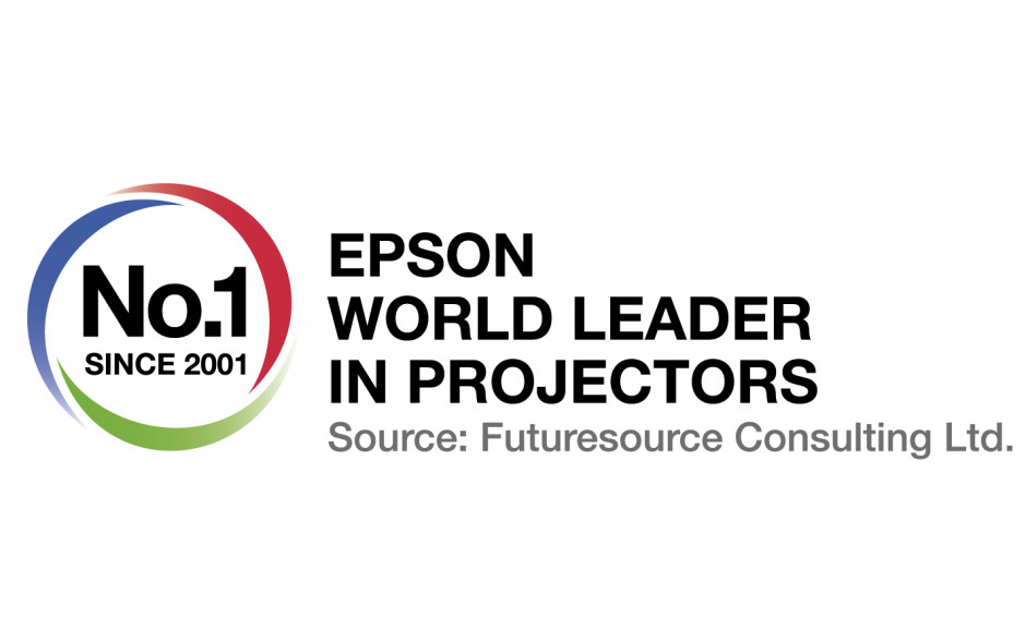 Futuresource confirms Epson is now the leading Pro AV projector vendor across EMEAR after 3 years of growth