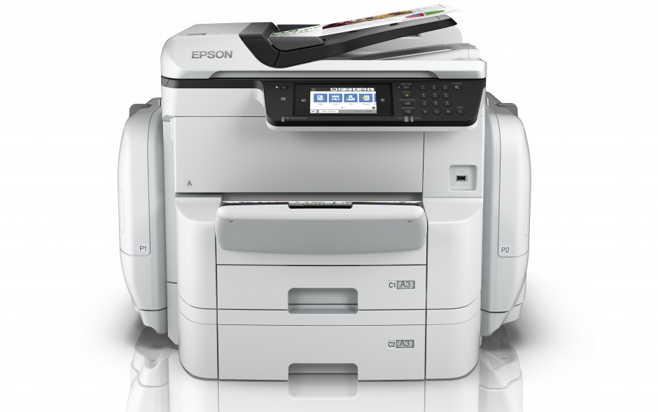 Save up to 95% on energy, 99% on waste, and print up to 84,000 pages with Epson's new WF-C869RDTWF