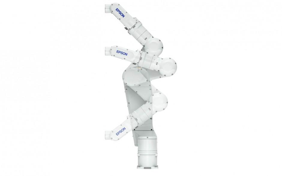 Epson lanza el robot compacto de 6 ejes N6 y el sensor de fuerza hueco SH250LH