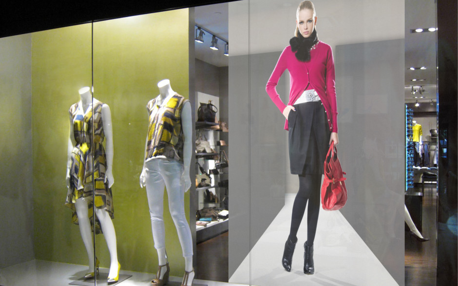 Eye-catching retail displays