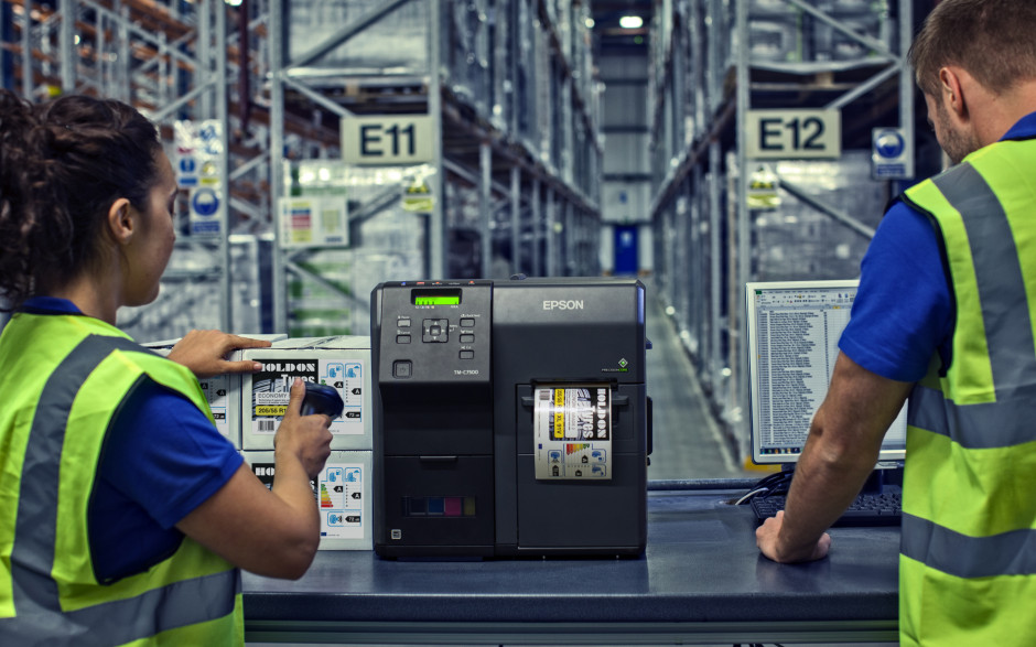 Epson offers comprehensive labelling and robotics solutions at PPMA Total Show
