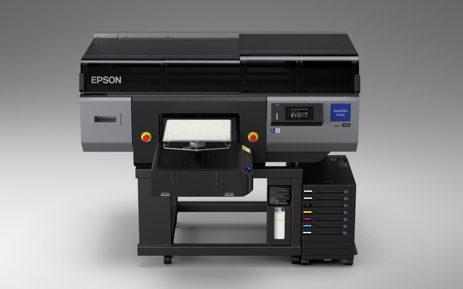 Epson announces a direct-to-garment printer for high productivity businesses with demanding workloads