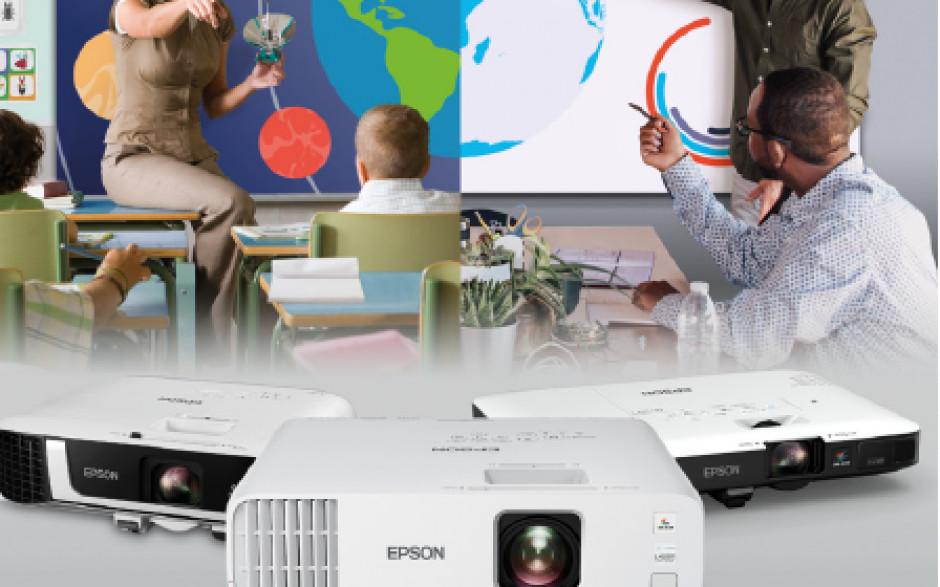 A Epson propõe novas soluções de projeção para uma maior eficiência e colaboração na educação e trabalho remotos