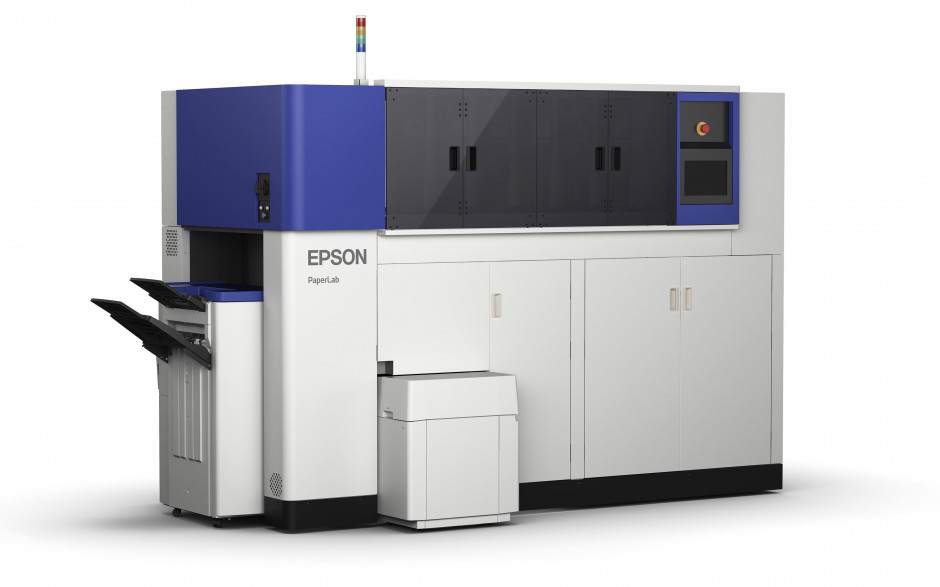 World's First Office Papermaking System comes to Europe