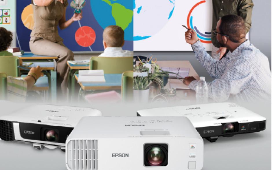 Epson propone nuevas soluciones de proyección para optimizar la eficiencia y mejorar la colaboración en educación y trabajo remotos