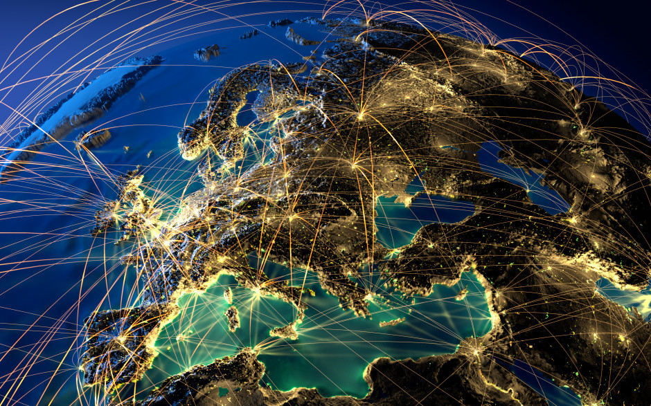 Rozmach technologií apracovní místa: jak to vidí Evropané