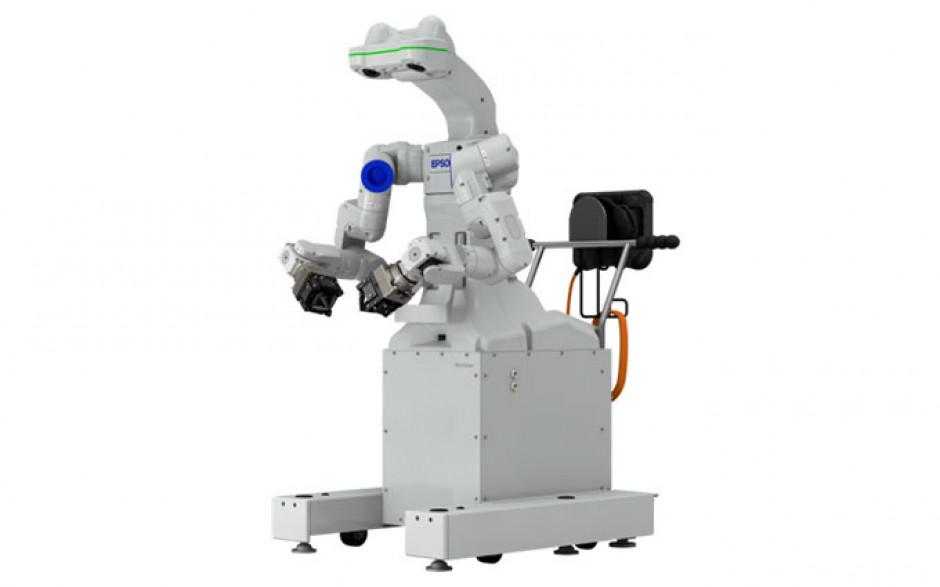 Epson lansează robotul cu două brațe care vede, simte și procesează
