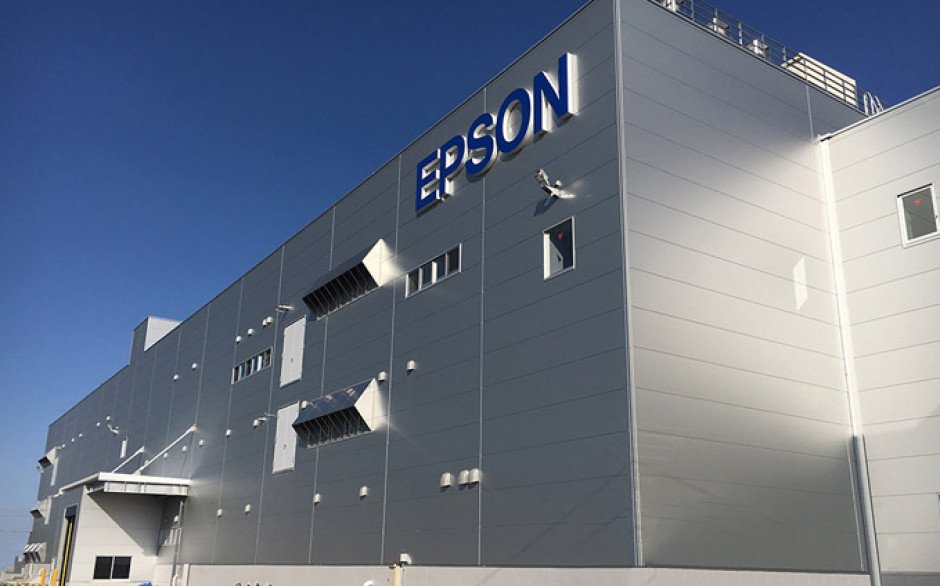 Akita Epson Completes New Printhead Factory
