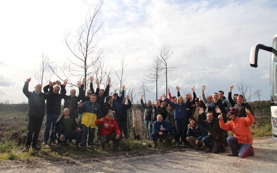 Epson planta 1.300 árvores para ajudar na reflorestação o Pinhal de Leiria