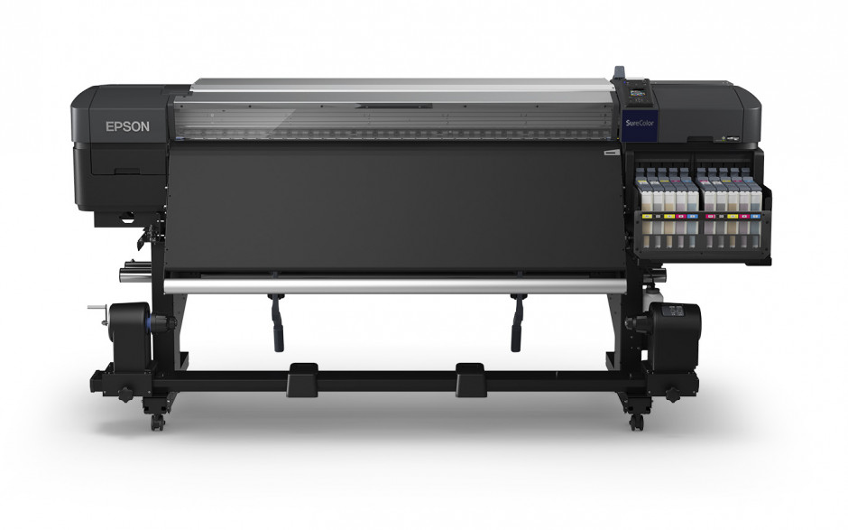 Epson offers its first genuine fluorescent ink, dye-sublimation, textile printing solution