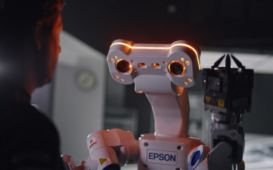 Lernen Sie Bertie den Roboter kennen– er lernt schnell und sieht alles