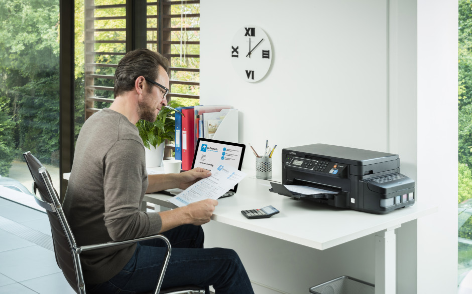 Epson launches ET-3600, adding double-sided printing to its 3-in-1 cartridge-free printer
