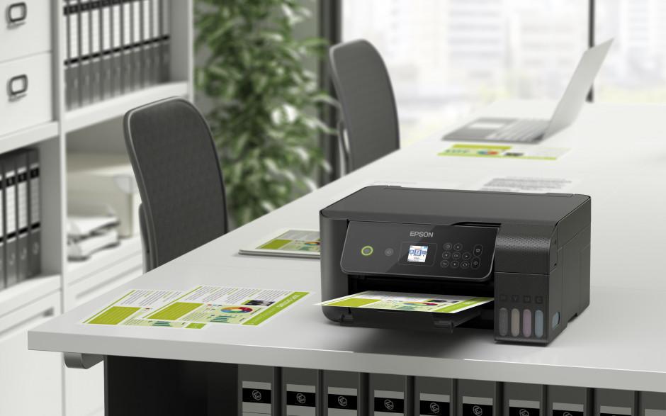 De nieuwste EcoTank-printers van Epson besparen geld en ruimte