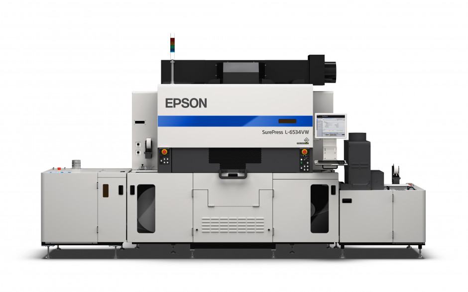 Epson's SurePress L-6534VW offers high print speeds, premium quality output and improved usability