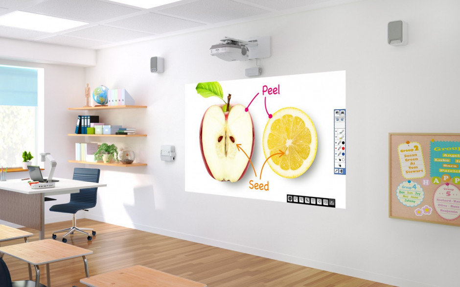 Epson develops new entry-level installation projector series for business and education