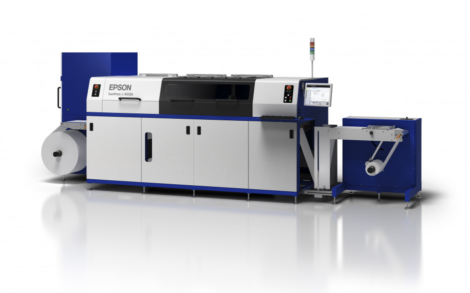 Epson announces versatile new short-run label press